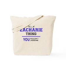 Unique Zachary Tote Bag