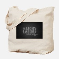 Buddha Quote - Mind Tote Bag