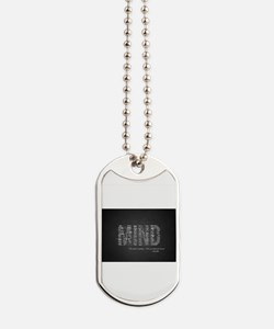 Buddha Quote - Mind Dog Tags