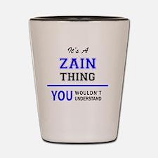 Funny Zain Shot Glass