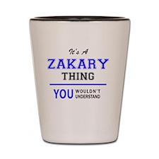 Cute Zakary Shot Glass
