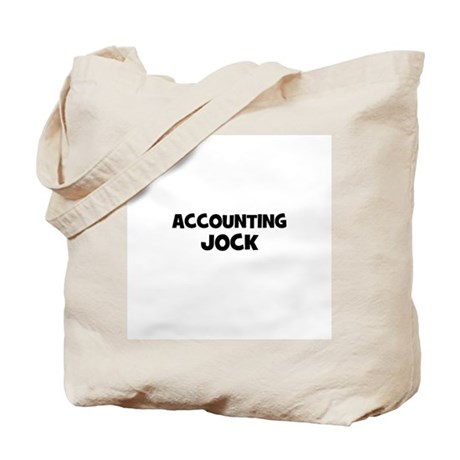 accounting Jock Tote Bag