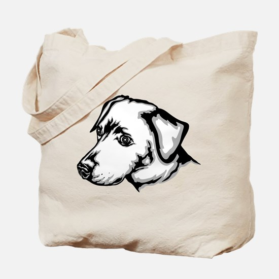 Blue Lacy Tote Bag