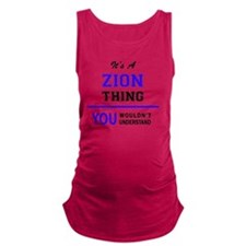 Funny Zion Maternity Tank Top