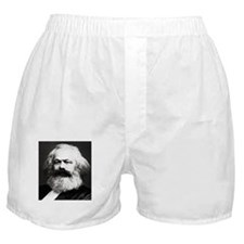 Marx Was Serious Boxer Shorts