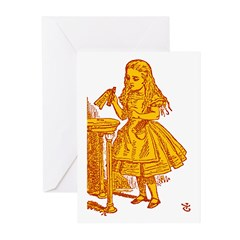 Drink Me! Greeting Cards (Pk of 10)