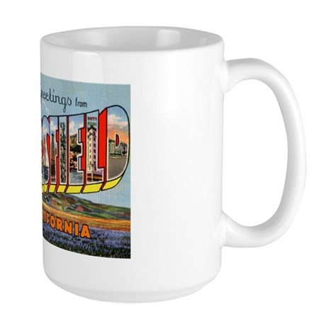 Bakersfield California Greetings Large Mug