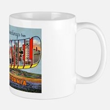 Bakersfield California Greetings Mug