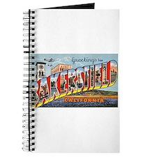 Bakersfield California Greetings Journal