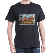 Bakersfield California Greetings (Front) T-Shirt