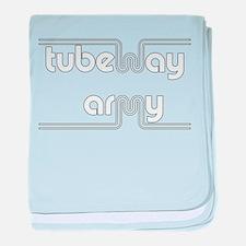Tubeway Army baby blanket