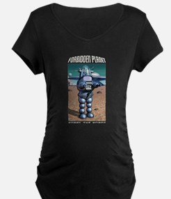 Forbidden Planet Robby the Robot Maternity T-Shirt