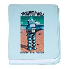 Forbidden Planet Robby the Robot baby blanket