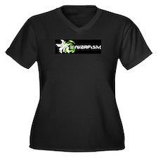 Cyberpunk Neuromancer Plus Size T-Shirt