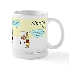 The 'Classic' left-handed mug