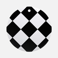 Black & White Basics Ornament (Round)