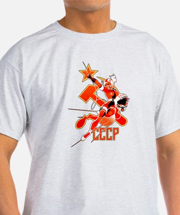 CCCP In Space T-Shirt