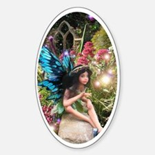 Garden Fairy Oval Decal