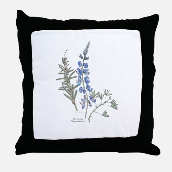 Silver Dune Lupin (Lupinus chamissonis) Throw Pill