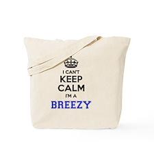 Funny Breezy Tote Bag
