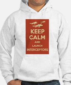 Keep Calm Interceptors UFO SHADO Jumper Hoody