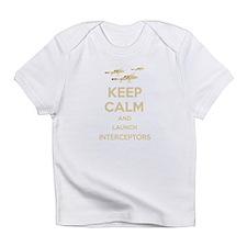 Keep Calm Interceptors UFO SHADO Infant T-Shirt