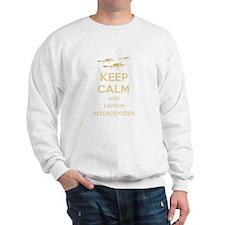 Keep Calm Interceptors UFO SHADO Sweatshirt
