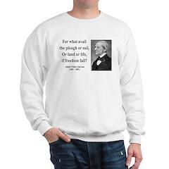 Ralph Waldo Emerson 24 Sweatshirt