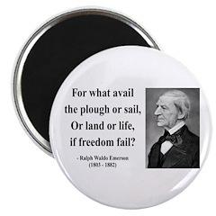 Ralph Waldo Emerson 24 Magnet