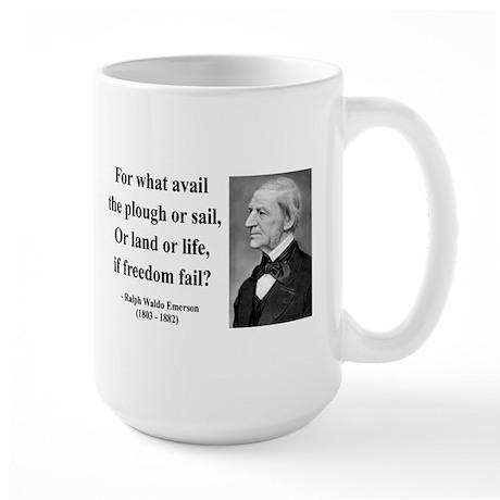 Ralph Waldo Emerson 24 Large Mug