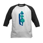 Curiouser and Curiouser! Kids Baseball Jersey