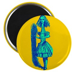 """Curiouser and Curiouser! 2.25"""" Magnet (10 pack)"""