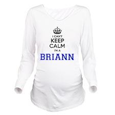 Brianne Long Sleeve Maternity T-Shirt