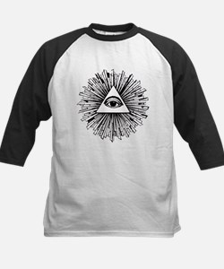 Illuminati Pyramid Eye Baseball Jersey