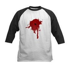 Bullet Hole With Blood Baseball Jersey