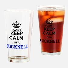 Funny Bucknell Drinking Glass