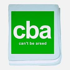 internet abbreviation acronym CBA baby blanket