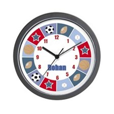 All Stars Sports Clock - Rohan Wall Clock