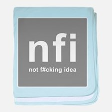 internet abbreviation acronym NFI baby blanket