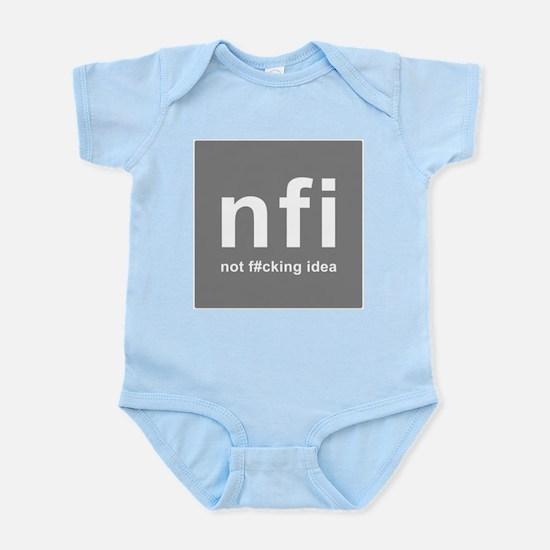 internet abbreviation acronym NFI Body Suit