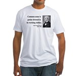 Ralph Waldo Emerson 27 Fitted T-Shirt