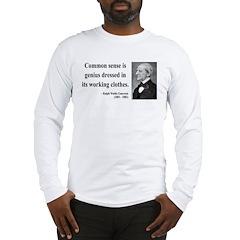 Ralph Waldo Emerson 27 Long Sleeve T-Shirt