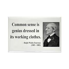 Ralph Waldo Emerson 27 Rectangle Magnet (10 pack)