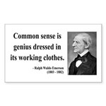 Ralph Waldo Emerson 27 Rectangle Sticker