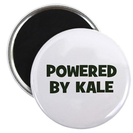 """powered by kale 2.25"""" Magnet (10 pack)"""
