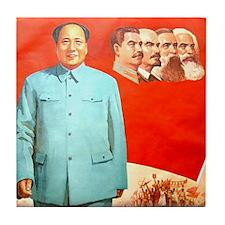 Mao's Inspiration Tile Coaster