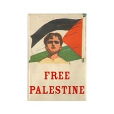 Free Palestine Rectangle Magnet