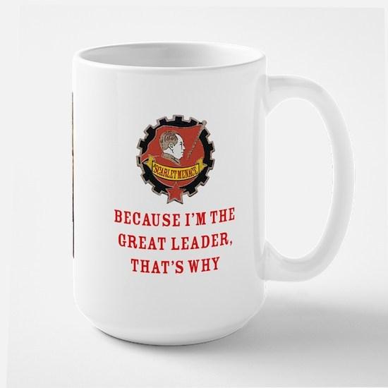 Great Leader Kim Large Mug