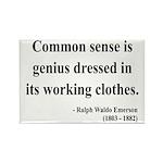 Ralph Waldo Emerson 27 Rectangle Magnet