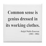 Ralph Waldo Emerson 27 Tile Coaster